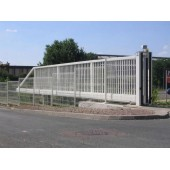 Разработка и монтаж откатных ворот